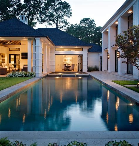 planning and drawing poolside cabana architecture design 16 unbelievable transitional swimming pool designs your