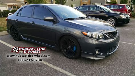2007 toyota corolla rims for sale 2013 toyota corolla s with all black msr 091 wheels
