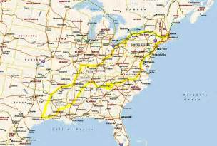 northeast usa road map images frompo