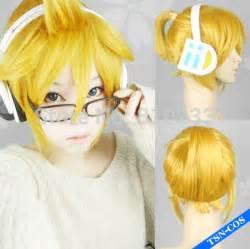 goldene len popular rin vocaloid wig buy cheap rin vocaloid wig lots