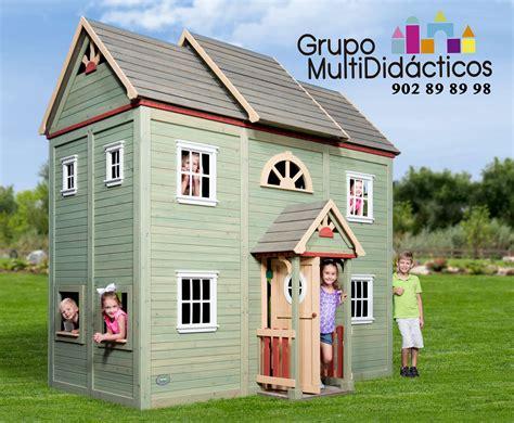 juego de casas casas de madera para ni 241 os parque de bolas casa