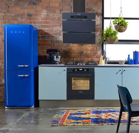 smeg fridge smeg fridge refrigerator and bricks