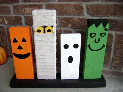diy halloween wood crafts halloween wood crafts wooden