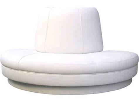 Circular Banquette Seating by Banquette 8 Foot Circular White Rentals New York City Ny
