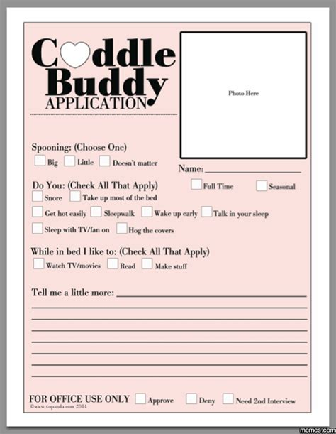 Cuddle Buddy Meme - cuddle buddy application memes com