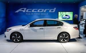 2016 honda accord hybrid changes autocvt