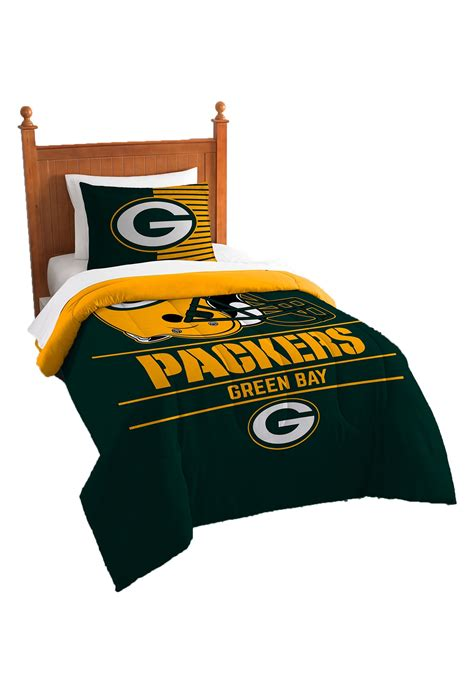 green bay packer bedding green bay packers twin comforter set