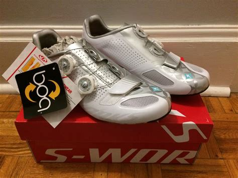 used road bike shoes brand new specialized 2014 s works s road cycling