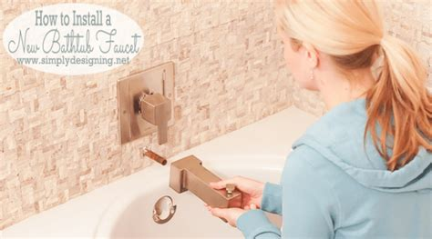 installing a bathtub faucet master bathroom remodel part 10 how to install a