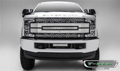 Led Light Bar Grill T Rex Ford F 250 F 350 Duty W Provision Torch Al Series Replacement