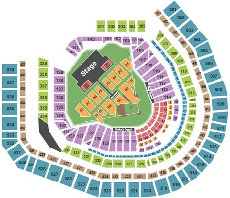 citi field seating diagram citi field concert seating chart zac brown band new york