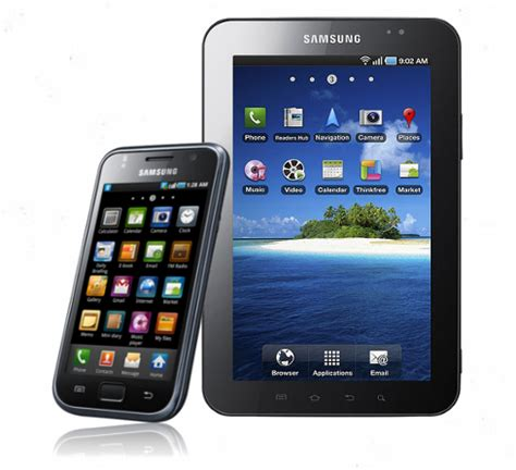 GALAXY S (I9000) and Galaxy Tab 7 (P1000) will get Android 2.3 upgrades & a value pack with Face
