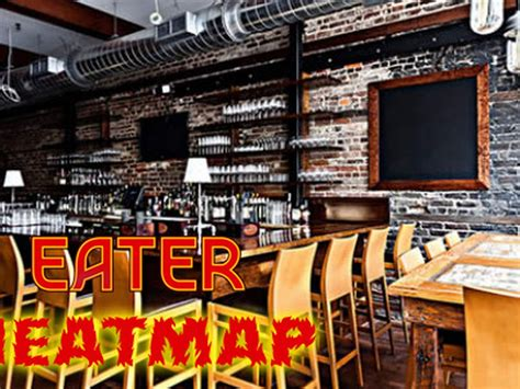 eater heat map the eater charleston heat map where to eat right now eater