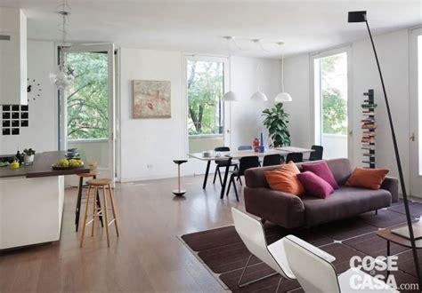 soggiorno sala da pranzo una casa con il soggiorno open space diventa pi 249
