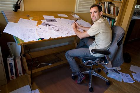 Drafting Table Wiki File Craig Thomson In His Studio Jpg Wikimedia Commons