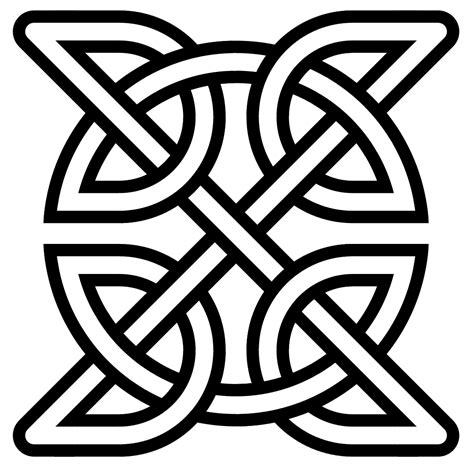File Celtic Knot Insquare Svg Wikipedia Scottish Designs