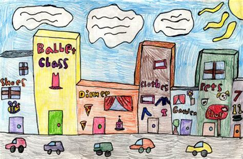 draw building draw city buildings projects for