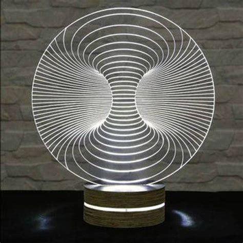 3d illusion acrylic l vector file led light