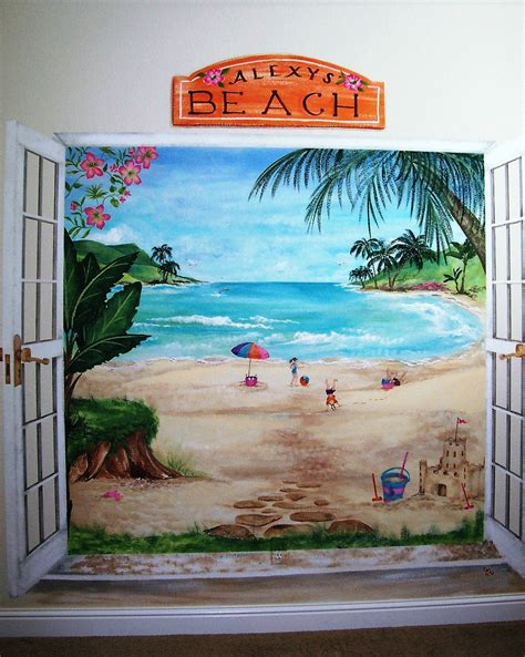 how to paint a wall mural in a bedroom childrens painted wall murals cathie s murals