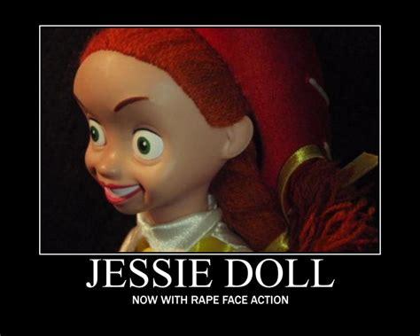 Rape Face Meme - ninja pirate reviews worst jessie toys ever