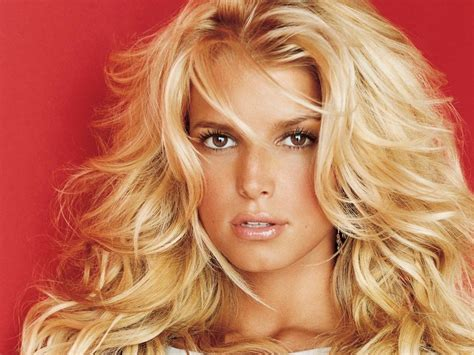 is jessica simpson a natural blonde image gallery jessica simpson face