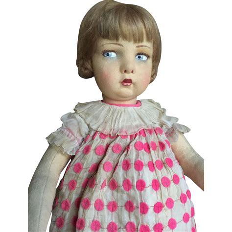 lenci doll 109 lenci 109 with organdy dress from antiquedolls6395 on ruby