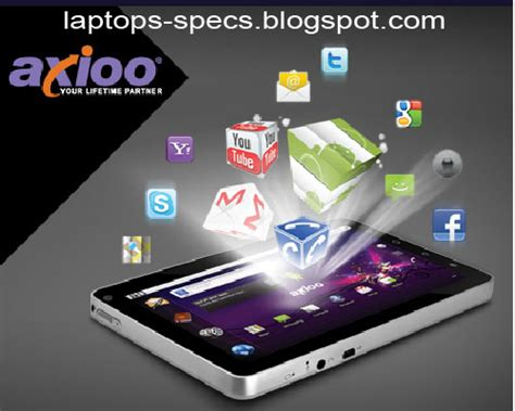 Tablet Axioo axioo picopad qgn tablet specifications laptop specs
