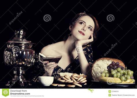 portrait  beautiful rich russian women royalty