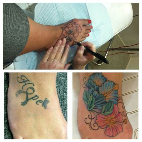 ankle cover up tattoos foot cover up ideas