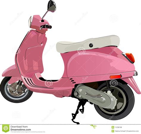 wallpaper vespa pink scooter royalty free stock photos image 11238198