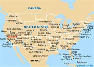 oakland maps and orientation oakland california ca usa