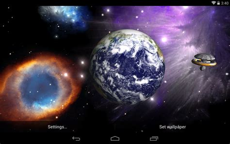 live wallpaper best space live wallpapers android live wallpaper livewallpapers org