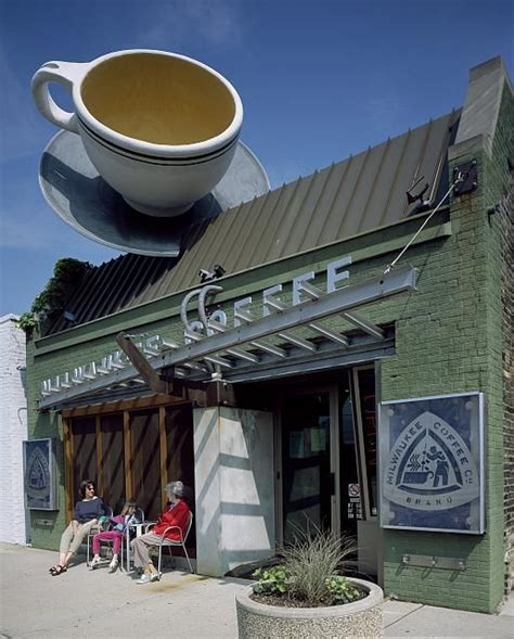 unique coffee shop in milwaukee wisconsin the library of