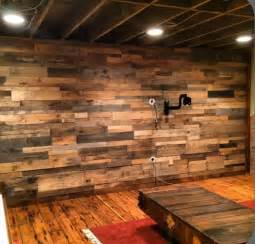 rustic wall diy wood pallet wall ideas and paneling