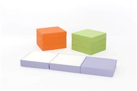 neat seat foam cube foam cube kids z bed chairbed free 24hr delivery flop