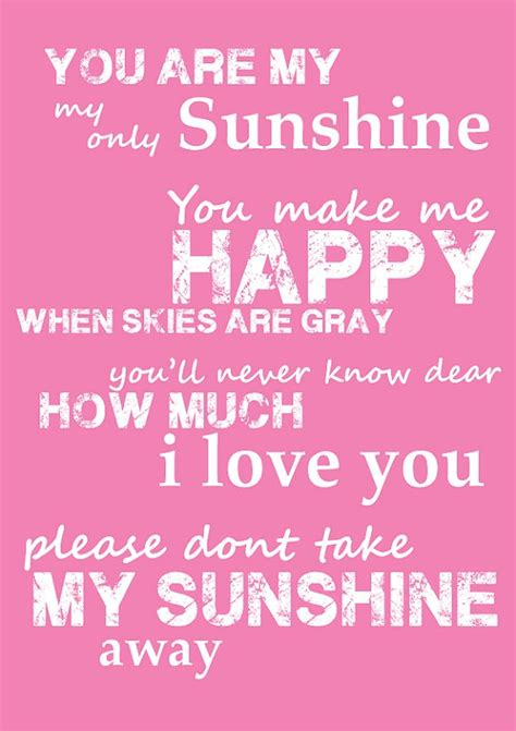summer c song you are my sunshine with lyrics and 121 best you are my sunshine images on pinterest good
