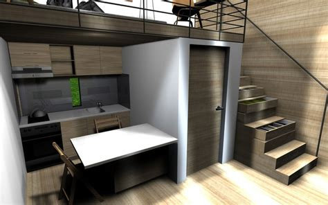 small cube home a touch of outside small houses plano de quot micro casa quot 161 seguro que llamar 225 tu atenci 243 n