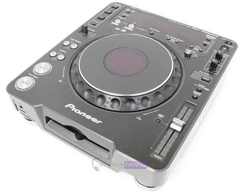 cd deck pioneer cdj1000 mk3 dj cd player deck whybuynew