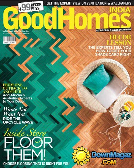 good home design magazines good homes india august 2015 187 download pdf magazines