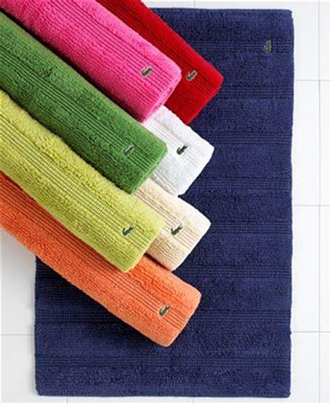 lacoste bath rug lacoste crocod il 24 quot x 36 quot bath rug bath rugs bath mats bed bath macy s