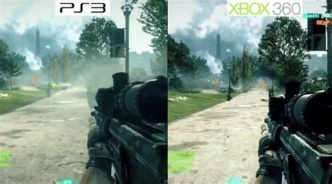 top ps3 graphics vs xbox360 battlefield 3 ps3 vs xbox 360 beta graphics debate rage