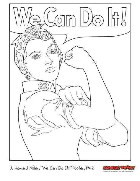 coloring pages you can do s equality day original 01