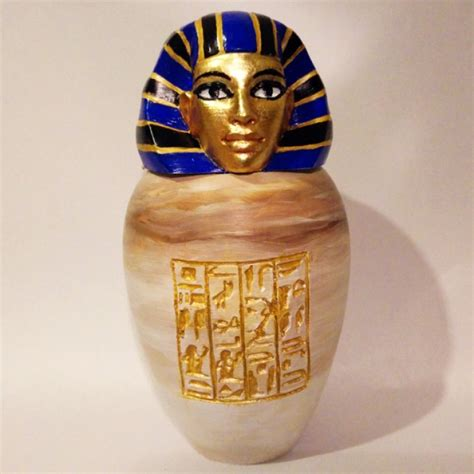 printable ancient egyptian canopic jar imsety