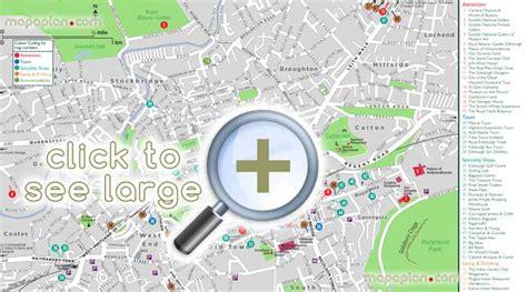 printable maps edinburgh city centre edinburgh maps top tourist attractions free printable