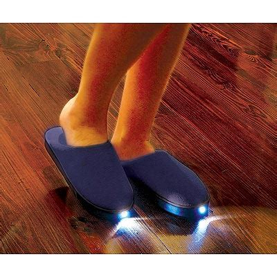 house shoes with lights fun gadgets the led slippers