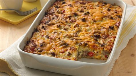 easy dishes for a crowd impossibly easy breakfast bake crowd size recipe from