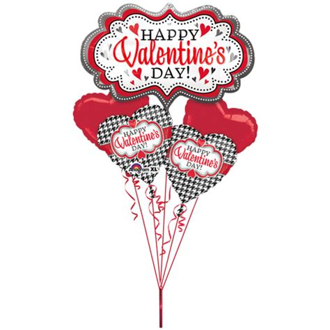 big valentines day balloons big happy s day marquee balloon bouquet 5