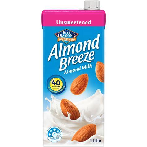 Almond Rawalmond Milk almond unsweetened almond milk 1l woolworths