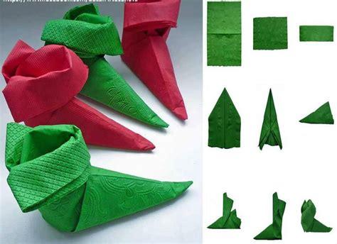 pliage de serviette pour noel le d hmk