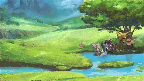 Relaxing Painting Videos This Has To Be One Of The Most Relaxing Pieces Of Pok 233 Mon